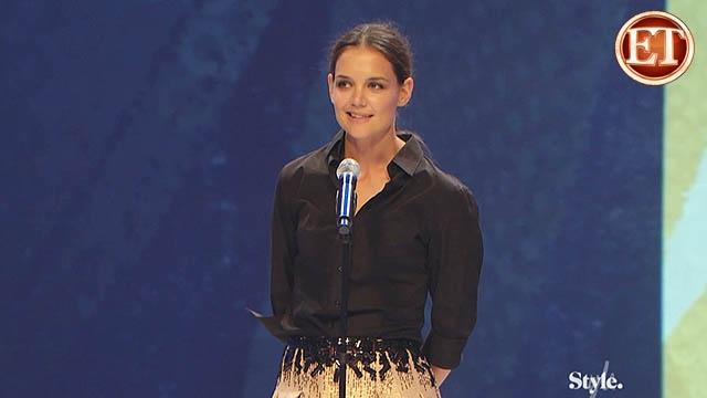 Katie Holmes at Style Awards 09/13/2012