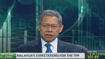 Malaysia trade minister: We're committed to TPP