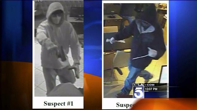 Two Sought in Violent Take-Over Robbery at Santa Ana Restaurant