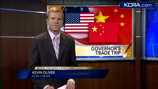 Brown goes to China to promote California