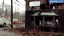 Another mystery fire breaks out in vacant building