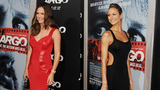 Stacy Keibler and Jennifer Garner Go Sexy in Red and Black!