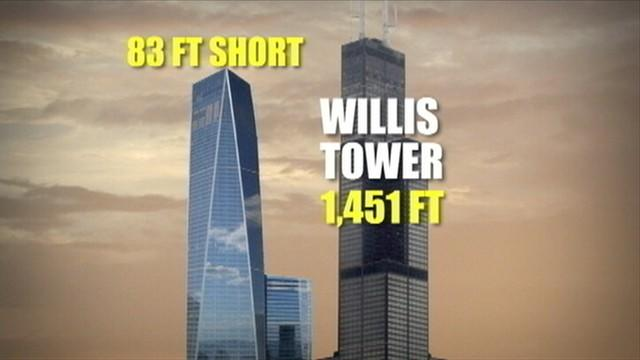 1 World Trade Center Named Tallest Building in US
