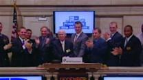 KSU Wildcats Help Ring NYSE Bell