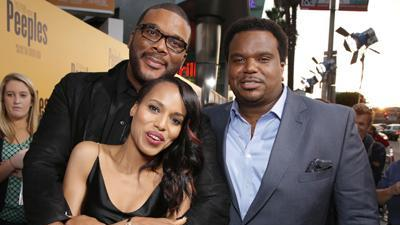 Tyler Perry and His 'Peeples'