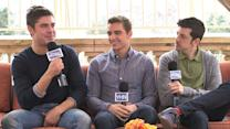 Zac Efron, Dave Franco, and Christopher Mintz-Plasse on 'Neighbors' Deleted Scenes