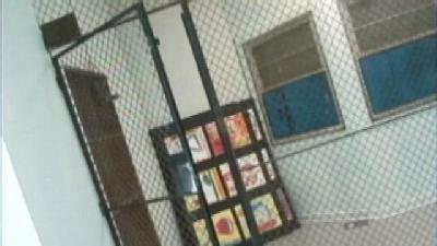 Mother Upset After Son Locked In 'Cage'