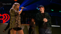 Taylor Swift And Ed Sheeran S End Game Duet Steals The Show At Iheartradio Jingle Ball