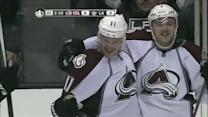 Jamie McGinn lifts the Avalanche in OT