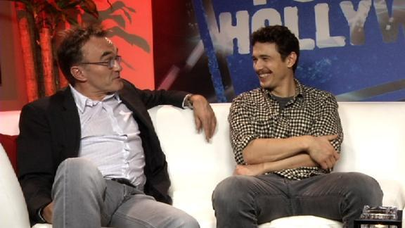 Danny Boyle and James Franco
