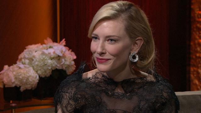 Golden Globes 2014: Backstage With Cate Blanchett