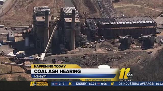 North Carolina Senate debating coal ash fix plan