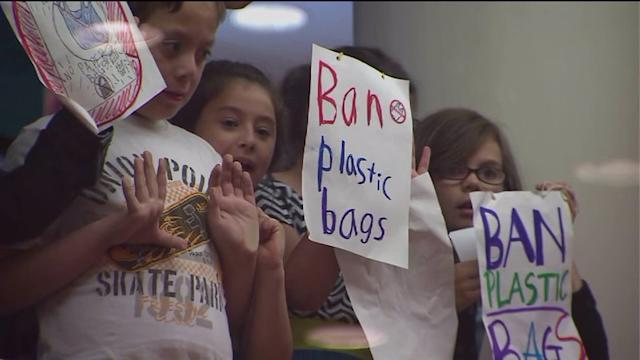 Potential plastic bag ban discussed at City Hall