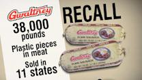38,000 Pounds of Sausage Recalled