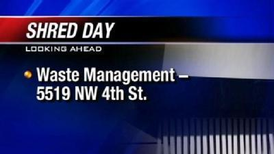 Company Helps Residents Shred Documents