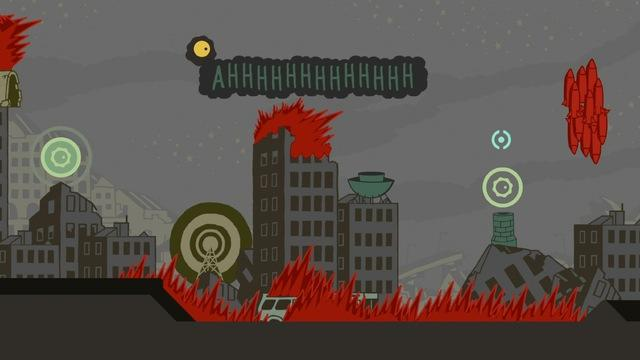 Sound Shapes - Cities PS4 Gameplay