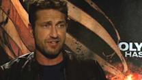 "Gerard Butler talks ""Olympus Has Fallen"""