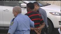 Bank robbery suspects nabbed after police chase
