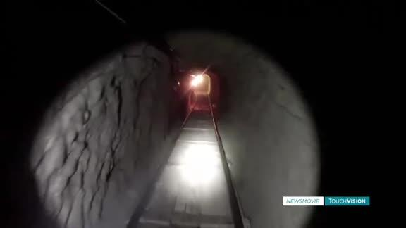 Federal agents secure 2 tunnels at the border
