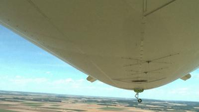 Raw: Zeppelin Offers Stunning Views Near Paris