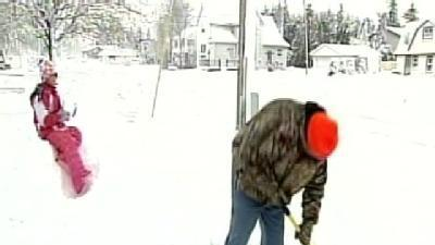 Residents Digging Out From Snow