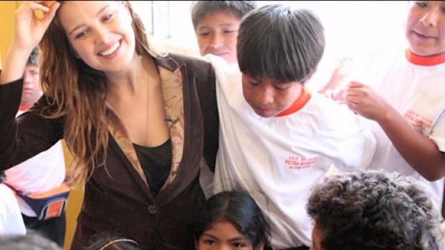 Supermodel Helps Rebuild Schools After Natural Disasters