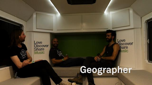 Spotify Big Green Bus Tour Diary #1