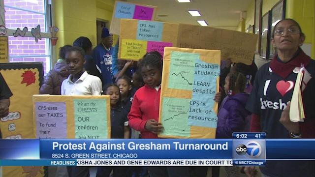 Sit-in ends at Gresham Elementary School