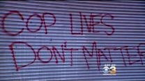 Anti-Police Message Found Spray Painted On Old City Garage Door