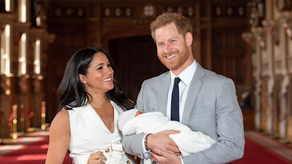Meghan Markle Celebrates First Mother's Day with Sweetest Photo of