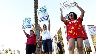 Enforcement of Ariz. immigration law protested