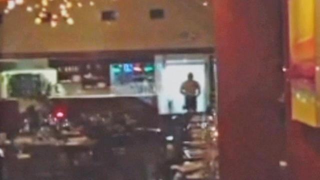 Man in underwear attacks Beverly Hills restaurant - caught on cam