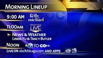 New morning lineup on ABC7 starting Monday