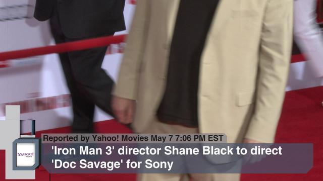 'Iron Man 3' Director Shane Black to Direct 'Doc Savage' for Sony