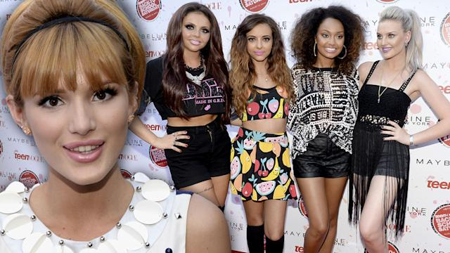 Little Mix & Bella Thorne Talk Back-To-School Fashions & Music at Teen Vogue Event