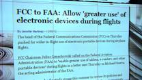 FCC says OK to use tablets, readers on planes