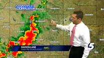 Damon's 7:55 p.m. severe weather update