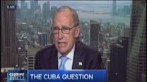 Say what? Kudlow supports Obama on Cuba