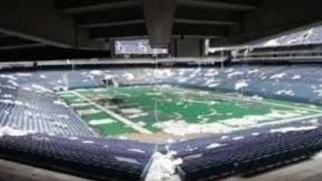 Creepy Tour Inside Abandoned Silverdome