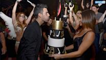 Joe Jonas Celebrates Birthday In Las Vegas With Nick Jonas And Olivia Culpo