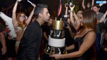 Joe Jonas Celebrates Birthday In Las Vegas With Nick Jonas And Olivia Culpo