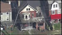 Fire ravages home in Mont Clare, Pa.