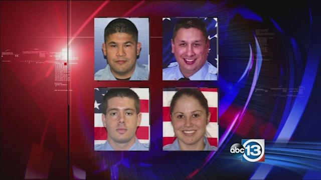 Officials release details of fallen firefighters' injuries