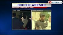 Brothers arrested in Mother's Day shooting