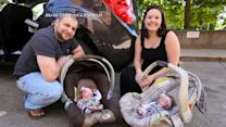 Homecoming for Rare Set of Monoamniotic Identical Twins