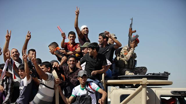 U.S. forces return to Iraq as militants approach Baghdad