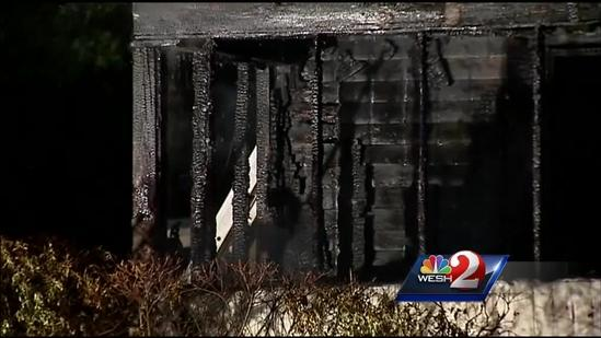 Officials search for cause of Sanford blaze