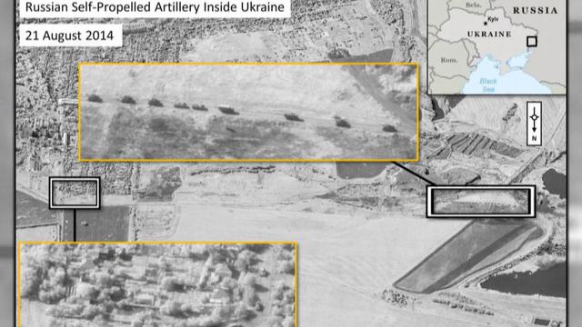 Russian military moving heavy artillery into Ukraine