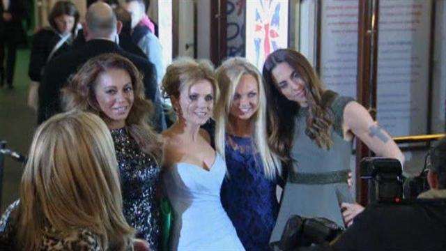 Spice Girls attend London's