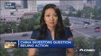 China investors question Beijing action